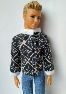 Рубашка с длинным рукавом для Кена (К19) Dutunka