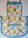 Дитячий фартух для дівчинки 5-10 років Пташки  Dutunka