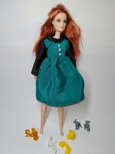 Плаття нарядне для ляльки Барбі Зоряне  Dutunka
