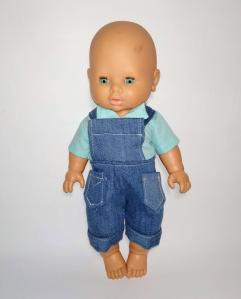 Літній костюм для пупса хлопчика 32 см Dutunka