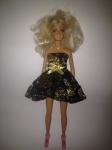 Платье нарядное  для куклы Барби Звездное (Б133) Dutunka