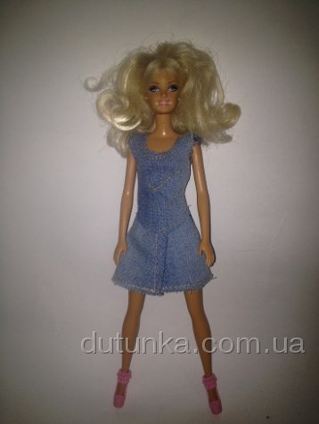 Комплект джинсового одягу для Барбі з спідничкою Dutunka