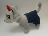 Джинсовий комплект для собачки Чи чи лав Модний джинс Dutunka