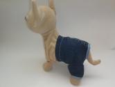 Джинсовий комплект для інтерактивної собачки Модний стиль Dutunka
