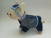 Джинсовый комплект для интерактивной собачки Модный стиль (ЧЧЛ137) Dutunka