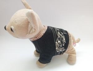 Джинсовий піджак для інтерактивної собачки Chi Chi Love Dutunka