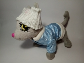 Комплект курточка + шапка для собачки Чічілав Блумчік Dutunka