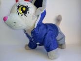 Курточка зимняя и штанишки для собачки Чи Чи Лав  Синева (Ч395) Dutunka