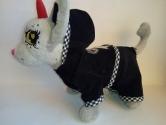 Вельветовий костюмчик для собачки Chi Chi Love Бантик Dutunka