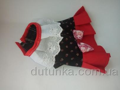 Сукня літня для інтерактивної собачки Dutunka