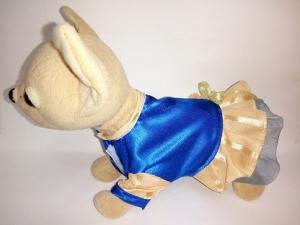 Атласна сукня для собачки Чи Чи Лав Електрик Dutunka