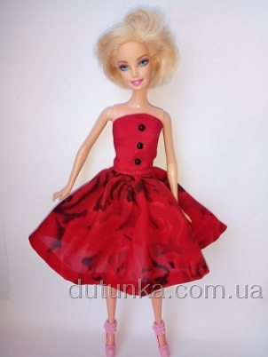 Плаття для Барбі Кармен   Dutunka