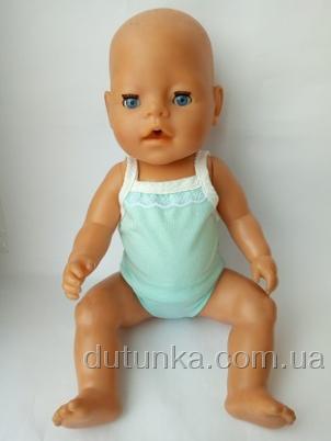 Майка и трусики для пупса Беби борн  Небесные (ББ752) Dutunka