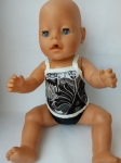 Комплект кукольного белья для пупса Беби борн Ночка (ББ759) Dutunka