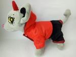 Комплект зимний для собачки Чи Чи Лав Пламенный (Б322)  Dutunka