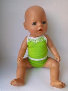 Комплект кукольного белья для  Беби бон Кружевная радуга(разные цвета)  Dutunka