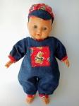 Комбинезон для куклы (К32-71) Dutunka