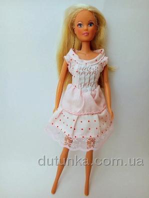 Сукня для ляльки Барбі Рожеве літо Dutunka