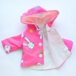 Ветровка-плащик для пупса 35 см Розовая мечта (К36-56) Dutunka