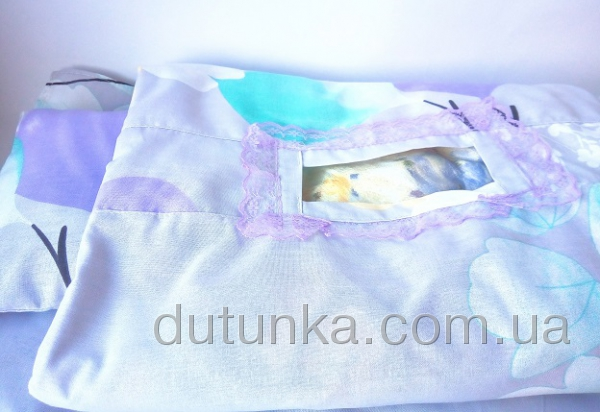 Постелька  для пупса-мальчика типа Беби Борн Слоненятка (ББ700) Dutunka