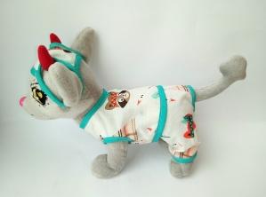 Летний комплект для собачки Чи Чи Лав (Ч403) Dutunka