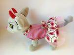 Летнее платье  для собачки Чи чи лав Поцелуйчики(Ч336)  Dutunka