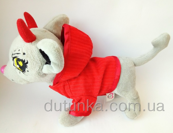Пиджак с капюшоном для собачки Чи Чи Лав Пламя(Ч301)  Dutunka