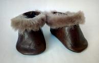 Зимові черевички з хутром для пупса Бебі Борн Dutunka