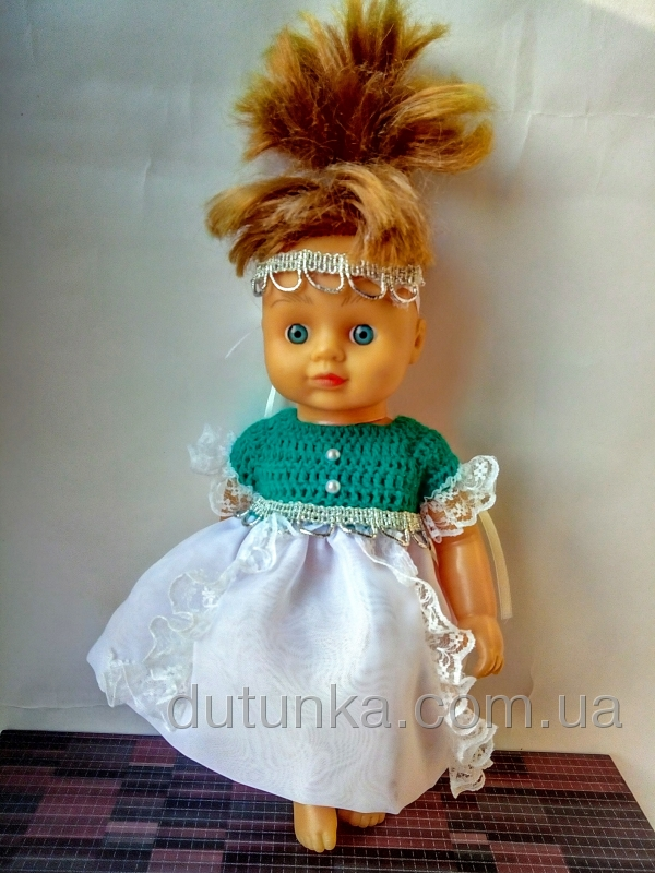 Бальне плаття для лялечки 28 см Царівна-жаба Dutunka