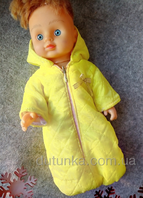 Комбинезон для куколки 28 см   (К28-12) Dutunka