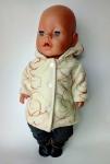 Пальто для пупса-девочки Беби Борн Леди (ББ902)  Dutunka
