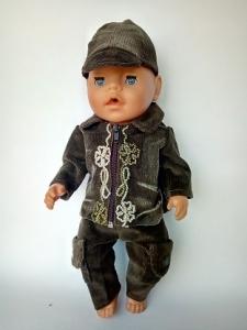 Комплект одягу для пупса-хлопчика Бебі Борн Мокачино Dutunka