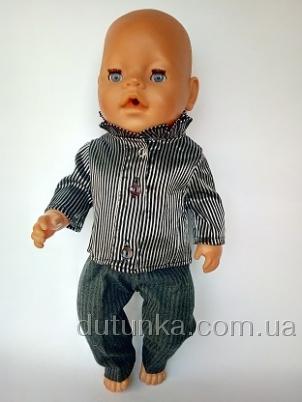 Костюм для пупса-хлопчика Baby Born Піжон Dutunka