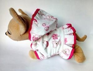 Теплый халатик для интерактивной собачки Чи Чи Лав Симпатяга(ЧЧЛ33) нет в наличии Dutunka