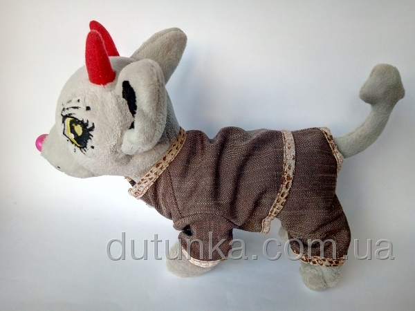 Костюм для собачки хлопчика Chi Chi Love Шоколадний Dutunka