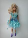Платье бальное для Барби Лазурь(Б203)  Dutunka