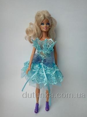 Плаття бальне для Барбі Лазур Dutunka