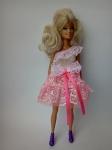 Платье бальное для куклы Барби Розовая мечта (Б33) Dutunka