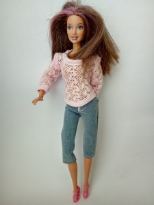Комплект брючный для куклы Барби Зефиринка (Б265)  Dutunka