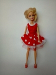 Комплект для куклы Барби Горошки для Минни (Б258)  Dutunka