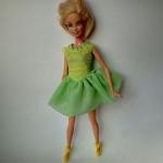 Платье нарядное для куклы Барби Весенее (Б89)   Dutunka