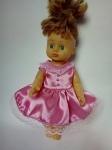 Летнее платье для куколки 28 см Розочка(К28-8)  Dutunka