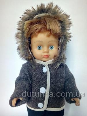 Пальто з капюшоном Брауні Dutunka