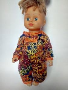 Теплый человечек для куколки Осень (К28-51) Dutunka