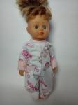 Теплый человечек для куколки Розовые мишки (К28-50) Dutunka
