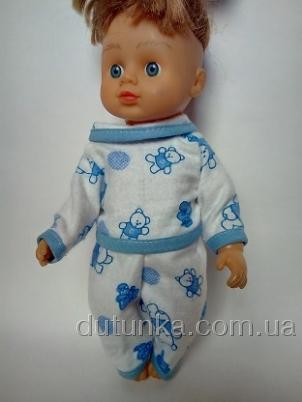 Піжамка для лялечки 28 см Ведмедики Dutunka