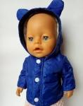 Курточка для пупса мальчика Беби борн Мишка (ББ909)   Dutunka