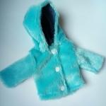 Шубка с капюшоном для куколки Зимняя сказка (К32-67)  Dutunka