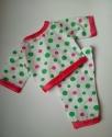 Пижама для пупса 36 см Веселые горошки (К35-7) Dutunka