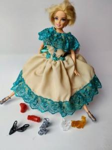 Сукня для ляльки Барбі Попелюшка Dutunka